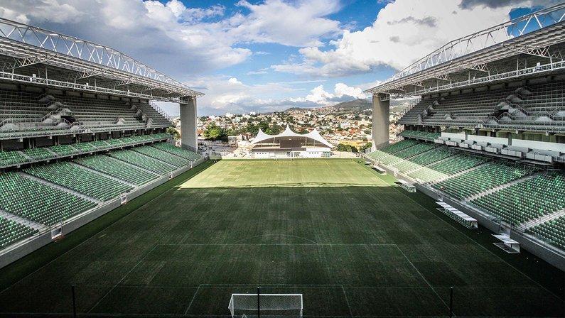 Arena Independência, palco de Cruzeiro x Botafogo pela Série B