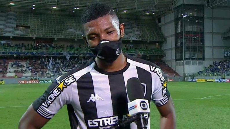 Kanu em Cruzeiro x Botafogo | Série B do Campeonato Brasileiro 2021
