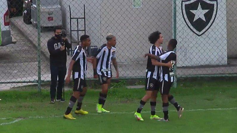 Gol de Kauê - Botafogo x Corinthians - Campeonato Brasileiro Sub-20