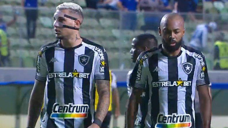 Rafael Navarro e Chay em Cruzeiro x Botafogo | Série B do Campeonato Brasileiro 2021